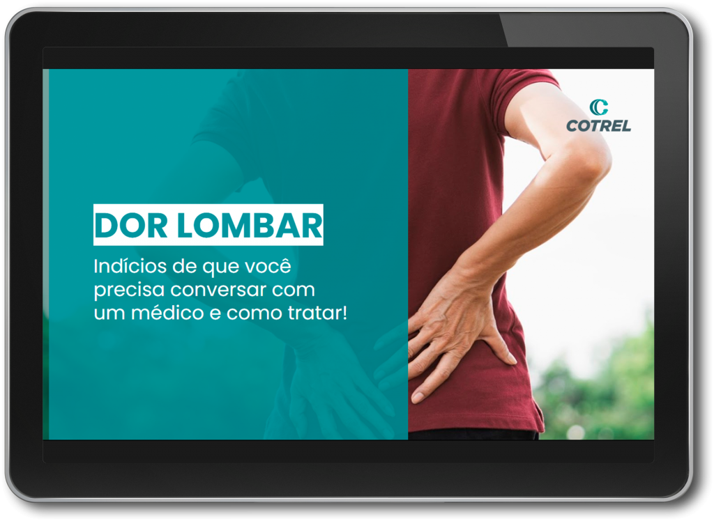 Ebook dor lombar
